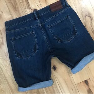 All Saints Shorts - All Saints Bermuda Denim Shorts